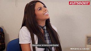 Big Boobs Latina Schoolgirl Rough Threesome With Rick Angel And Kesha Ortega