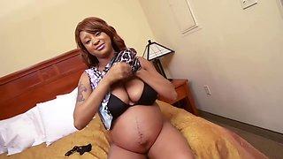black pregnant - kami mark