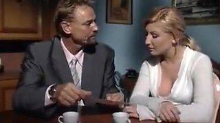 Fabulous Italian, Blowjob adult scene