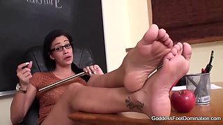 Teacher Feet Joi