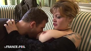 Driver Comforts Tempting French Mother I´d Like To Fuck Cryi - French