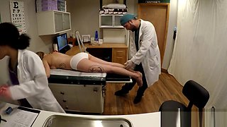 GirlsGoneGyno Doctor & Nurse Thoroughly Examine Alexandria Riley Pt 2 of 7