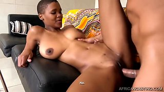 Busty African Babe with Amazing Tits