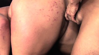 Insatiable blonde plumper Kacey is addicted to hard meat and hot jizz