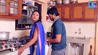 Indian Telugu Soni Priya – romance in kitchen