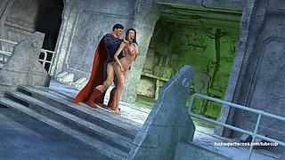 Superman and the sexy slutty big titty betty
