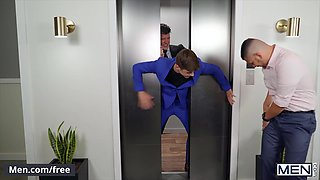 Men com JJ Knight Joey Mills Elevator Pitcher Bareback