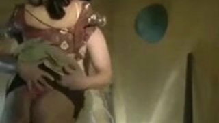 Beautiful housewife having sex with a neighbor