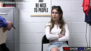 Rich Cute Teen Shoplifter Paige Owens Plays Innocent But She Was Not