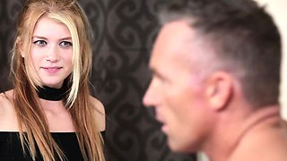 MyBabySittersClub-  Blonde Babysitter Fucks Older Dad