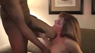 Redhead wife with a bbc