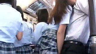 School girl fucked in bus