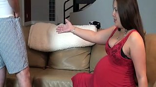 My hot pregnant girlfriend never stops wanting sex