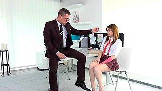 High school student fucked by her teacher